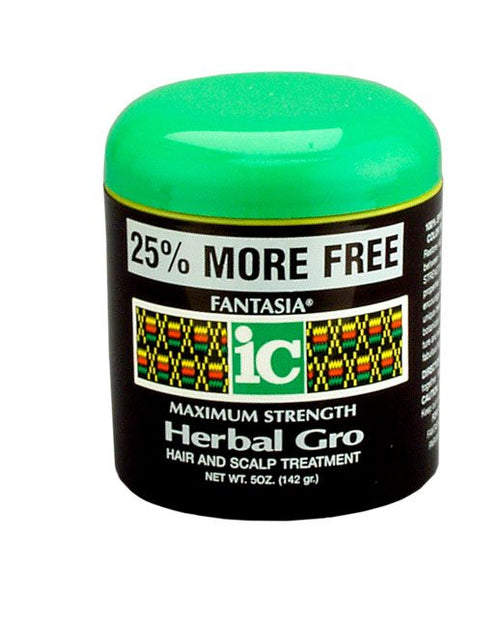 Fantasia IC - Maximum Strength Herbal Gro Hair and Scalp Treatment- 5oz