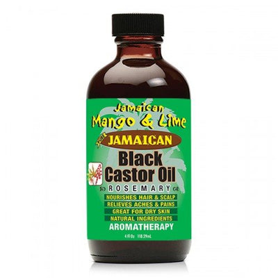 Jamaican Mango and Lime Black Castor Oil Rosemary - 4oz