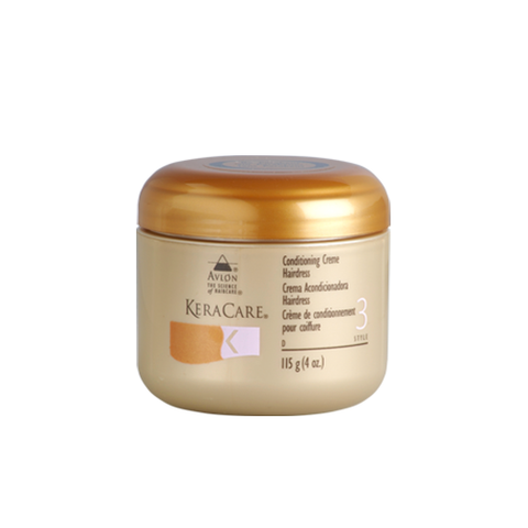 KeraCare - Conditioning Creme Hairdress - 4oz