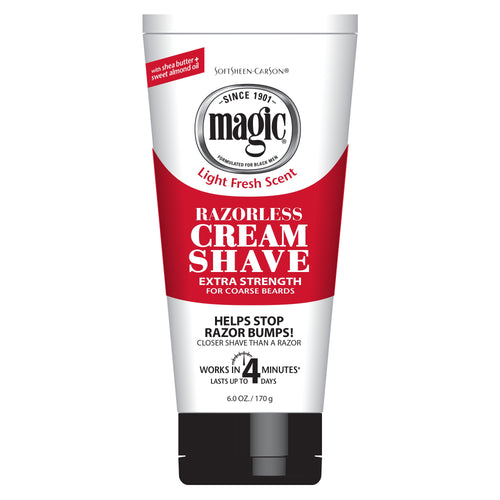 Magic Razorless Cream Shave Extra Strength