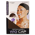 Magic Collection - STOCKING Wig Cap 2 pcs; Wig Cap; Wig Cap mesh; Wig Cap brown; Wig Cap stocking; Wig cap to make wigs; Wig Cap DIY; Wig Cap UK; Magic Wig cap; Magic Collection Wig Cap