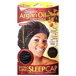 Magic Collection; Magic; Sleep cap; Magic Sleep Cap; Satin Sleep Cap; Extra Large Sleep Cap; Breathable material; Organic Argan oil Treated Sleap Cap