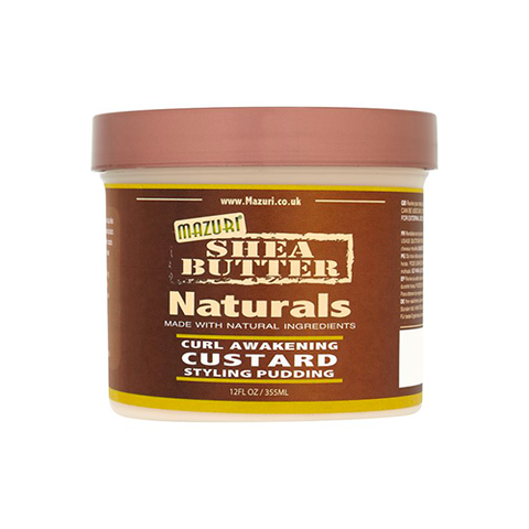 Mazuri - Shea Butter Curl Awakening Custard Styling Pudding - 12oz