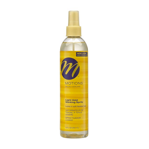 Motions - Light Hold Working Spritz Spray - 12oz