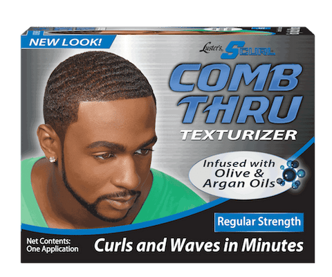 SCurl - 1 App Comb Thru Texturizer Kit Regular Strength