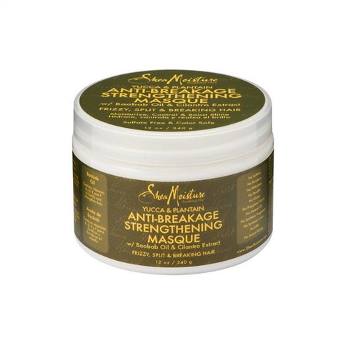 Shea Moisture - Yucca & Plantain Anti-Breakage Strengthening Masque - 12oz