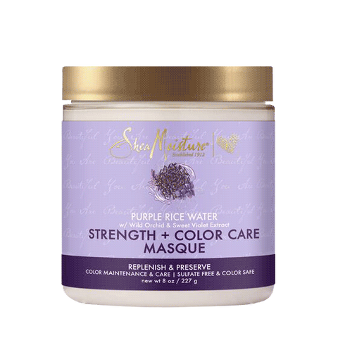 Shea Moisture Purple Rice Water Strength & Color Care Masque