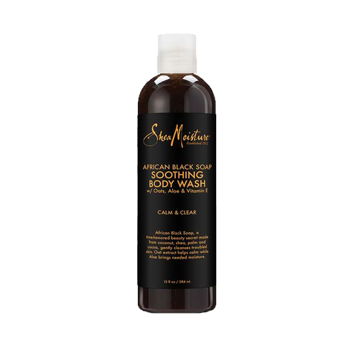 Shea Moisture - African Black Soap Soothing Body Wash - 13oz