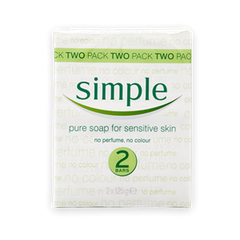 Simple Pure Soap for Sensitive Skin
