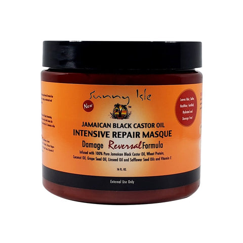 Sunny Isle - Jamaican Black Castor Oil Intensive Repair Masque - 16 oz