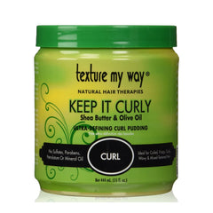 Texture My Way - Keep It Curly Ultra Defining Curl Pudding - 15 oz