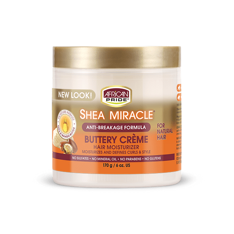 African Pride - Shea Miracle Buttery Creme - 6 oz