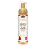 African Pride Moisture Miracle Rose Water & Argan Oil Curl Mousse 8.5oz