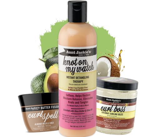 Aunt Jackie's - The Perfect Soft Curls Kit