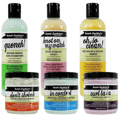 Aunt Jackie's - Moisturizing & Softening Hair Care Full Collection
