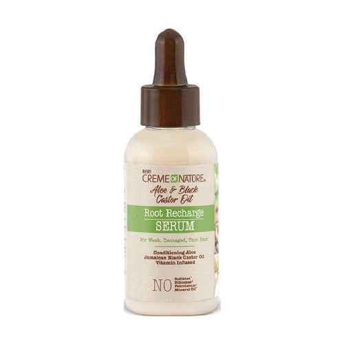 Creme Of Nature - Aloe & Black Castor Oil Root Charge Serum - 1.7 oz