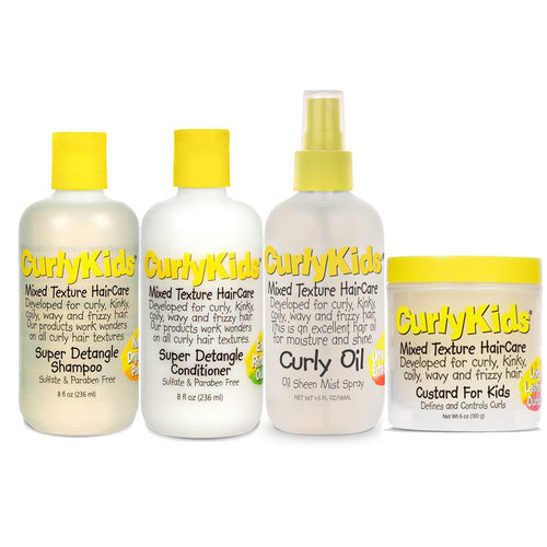 Curly Kids - Mixed & Multi Textured Define N' Shine Kit