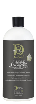 Design Essentials - Almond & Avocado Moisturizing & Detangling Conditioner 32oz