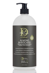 Design Essentials - Almond & Avocado Moisturizing & Detangling Sulfate Free Shampoo 32oz