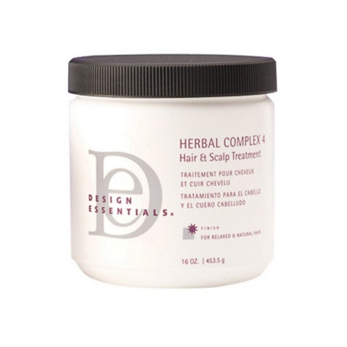 Design Essentials - Herbal Complex 4 Hair & Scalp Treatment 16oz