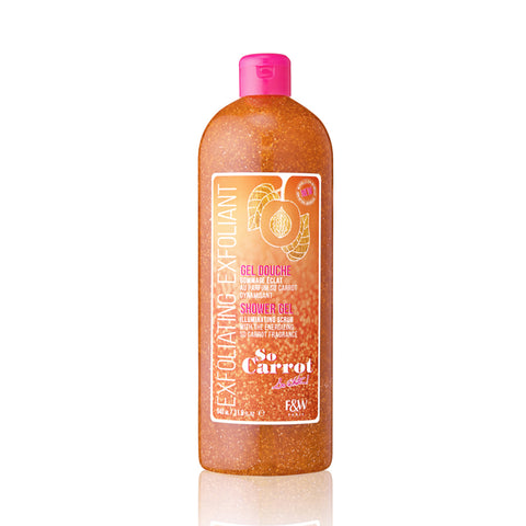 Fair & White - So Carrot Exfoliating Shower Gel