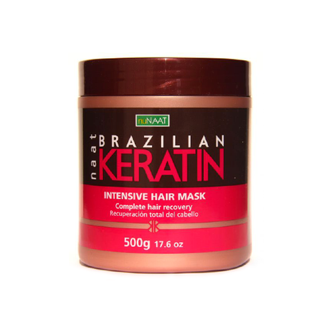 nuNAAT - Brazilian Keratin Intensive Hair Mask - 17.6oz