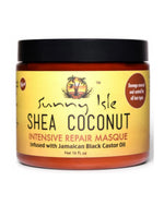 Sunny Isle - Shea Coconut Intensive Repair Masque - 16oz
