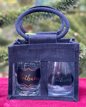 Hotham's Cardamom Gin & Glass in a Tote Gift Bag