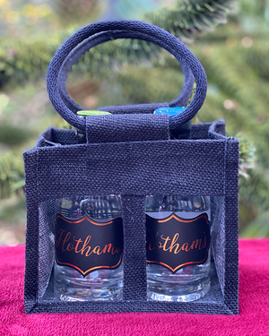Hotham's Leeds Dry Gin and Cardamom Gin Tote Bag Gift Set