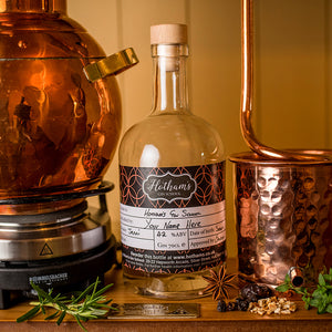 Hotham's Gin School Bottle Remake of you gin