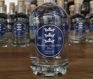 Kingston upon Hull Day Commemorative Gin 2019