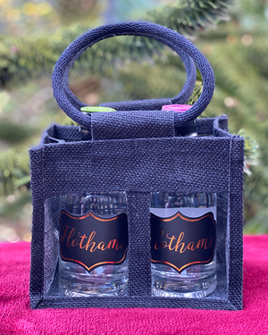 Hotham's Original Gin and Cardamom Gin Tote Bag Gift Set