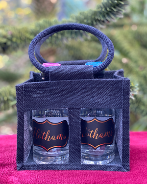 Hotham's Original Gin and Leeds Dry Gin Tote Bag Gift Set