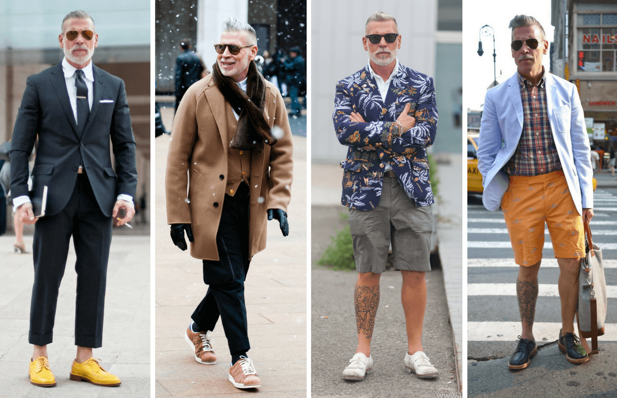 Style masculin age