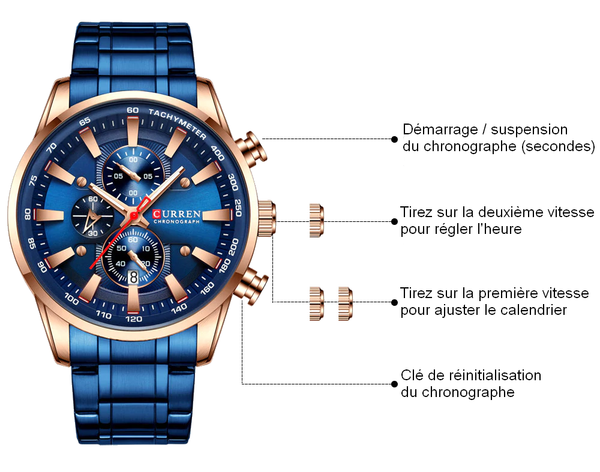 MONTRE OYSTER LUXE