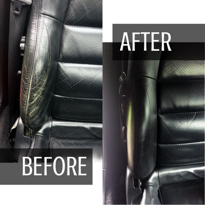 Black Leather and Vinyl Paint Repair Kit