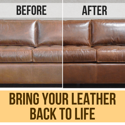 Leather Cleaner and Conditioner for Home and Car