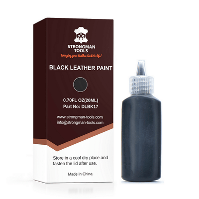 Leather and Vinyl Paint: Black