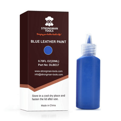 Leather and Vinyl Paint: Blue