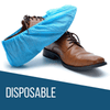Heavy Duty Disposable Shoe Covers: Blue, 120 Pack - IN STOCK NOW
