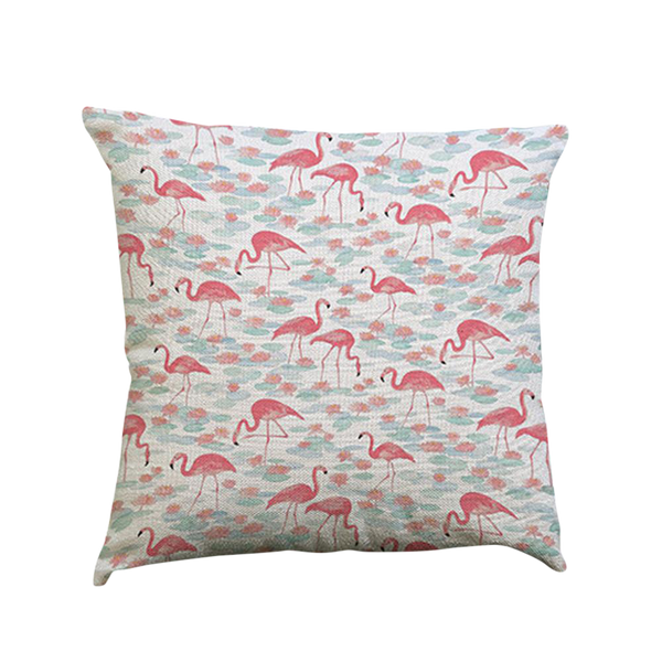 Flamingo Pillow Case - Type D