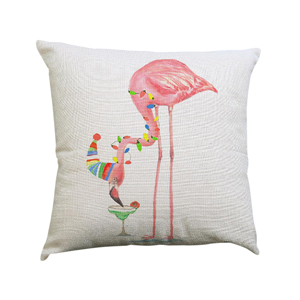 Flamingo Pillow Case - Type F