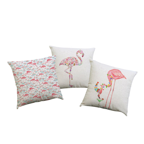 Flamingo Pillow Cases - 3 styles