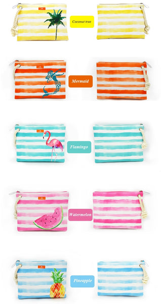 Wet Bikini Clutch - Front and Back