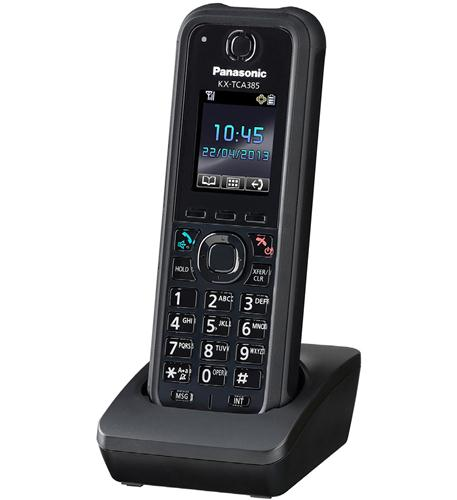 KX-TCA385 Rugged DECT Multi-Cell Wireless Handset
