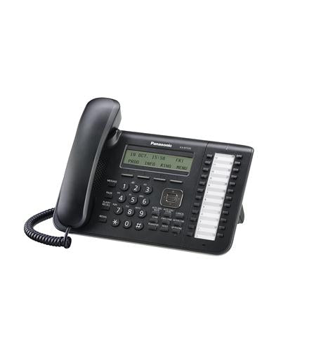 KX-NT543-B Black 3-Line Backlit LCD IP Phone with 24 Buttons
