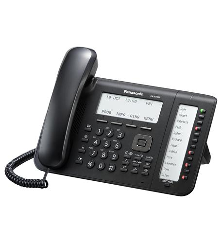 KX-NT556-B 6-Line Backlit LCD IP Phone with 36 Buttons