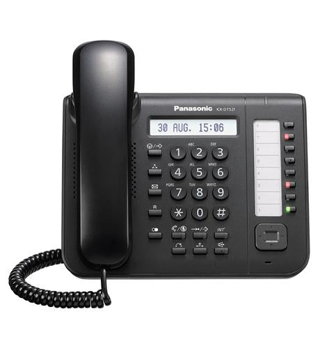 KX-DT521-B Digital Telephone with Full Duplex Speaker Phone