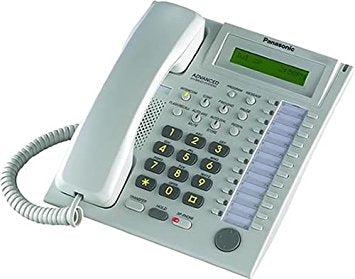 KX-T7720 White SP Phone with 24 CO Buttons and No LCD