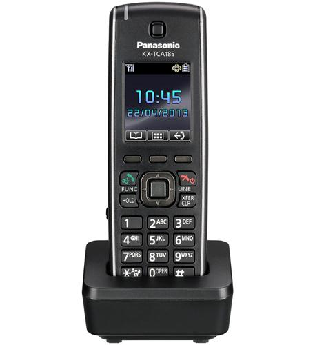KX-TCA185 Standard DECT Multi-Cell Wireless Handset